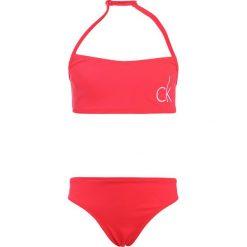 Stroje dwuczęściowe dziewczęce: Calvin Klein Swimwear BANDEAU SET Bikini diva pink