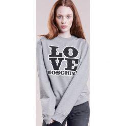 Love Moschino Bluza grey. Szare bluzy rozpinane damskie Love Moschino, z bawełny. W wyprzedaży za 400,95 zł.
