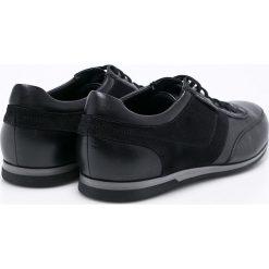 Gino Rossi - Buty Jim. Czarne buty sportowe męskie marki Gino Rossi, z gumy, ze sznurowanym dekoltem. W wyprzedaży za 319,90 zł.