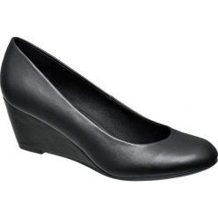 Buty ślubne damskie: czółenka damskie Graceland czarne