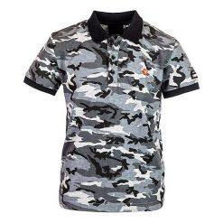 T-shirty chłopięce: Koszulka polo w kolorze czarno-białym
