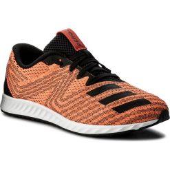Buty adidas - Aerobounce Pr M BW1254 Sorang/Cblack/Cblack. Brązowe buty do biegania męskie Adidas, z materiału. W wyprzedaży za 269,00 zł.