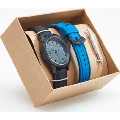 Zegarek z wymiennym paskiem - Granatowy. Niebieskie zegarki męskie marki Reserved. Za 79,99 zł.
