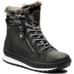 Buty zimowe damskie: Śniegowce CAPRICE - 9-26205-29 Black Comb 019