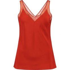 Bluzki asymetryczne: Ted Baker LEIAA V NECK  Bluzka brick red