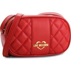 Torebka LOVE MOSCHINO - JC4005PP16LA0500  Rosso. Czerwone listonoszki damskie Love Moschino, ze skóry ekologicznej, na ramię. W wyprzedaży za 409,00 zł.