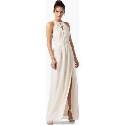 Sukienki: Lipsy – Damska sukienka wieczorowa, beżowy