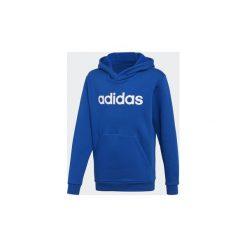Bluzy dresowe Dziecko adidas  Bluza z kapturem Linear. Niebieskie bluzy chłopięce rozpinane marki Adidas, z dresówki, z kapturem. Za 179,00 zł.