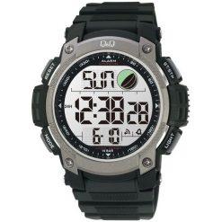 Biżuteria i zegarki męskie: Zegarek Q&Q Męski M119-002 Metronom czarny