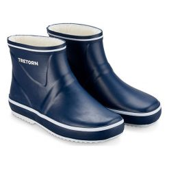 Buty zimowe damskie: Kalosze w kolorze granatowym