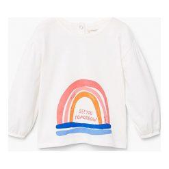 Bluzki dziewczęce bawełniane: Mango Kids - Bluzka dziecięca Arqui 80-104 cm