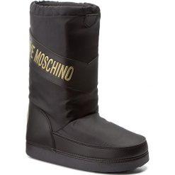 Buty zimowe damskie: Śniegowce LOVE MOSCHINO – JA24222G04JK0000 Nero