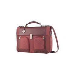 """Torba do laptopa Samsonite S-Teem 15.4"""" 34U03001. Brązowe torby na laptopa marki Samsonite, z nylonu. Za 399,00 zł."""