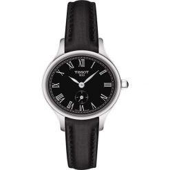 RABAT ZEGAREK TISSOT BELLA ORA PICCOLA T103.110.17.053.00. Czarne zegarki damskie TISSOT, szklane. W wyprzedaży za 1320,00 zł.