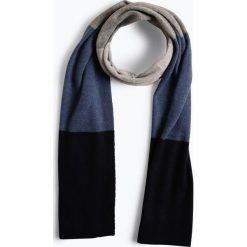 Marie Lund - Damski szalik z czystego kaszmiru, niebieski. Niebieskie szaliki damskie Marie Lund, z kaszmiru. Za 299,95 zł.