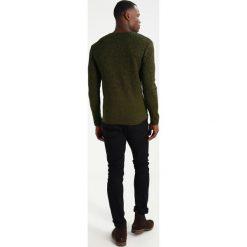 Swetry klasyczne męskie: Key Largo SPIRIT Sweter oliv
