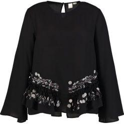 Bluzki asymetryczne: Lost Ink Plus SWING Bluzka black