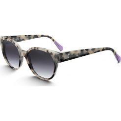 """Okulary przeciwsłoneczne damskie: Okulary przeciwsłoneczne """"Leopard Thelma"""" ze wzorem"""