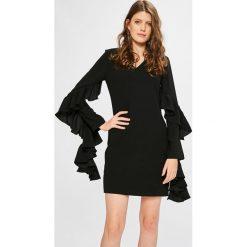 Miss Sixty - Sukienka Heidi. Czarne długie sukienki marki Miss Sixty, na co dzień, m, z poliesteru, casualowe, z długim rękawem, dopasowane. W wyprzedaży za 499,90 zł.