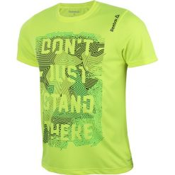 Odzież sportowa męska: koszulka do biegania męska REEBOK RUNNING ESSENTIALS SHORTSLEEVE TEE / AJ0359