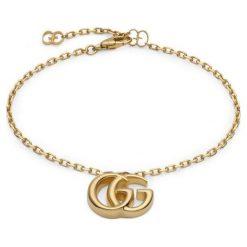 Bransoletki damskie: Piękna Złota Bransoletka - złoto żółte 750