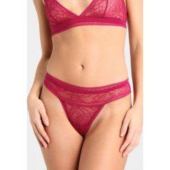 Majtki damskie: Calvin Klein Underwear THONG Stringi indulge