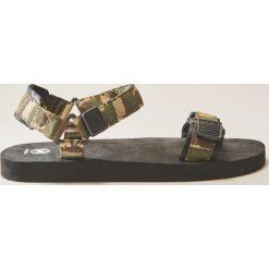 Sandały męskie: Sandały camo – Czarny