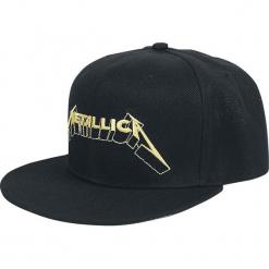 Metallica Justice Czapka Snapback czarny. Czarne czapki z daszkiem damskie Metallica. Za 79,90 zł.