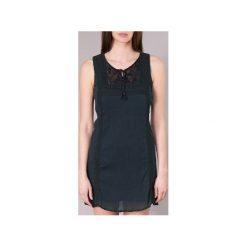 Sukienki krótkie Banana Moon  ELEANOR MAKENNA. Czarne sukienki hiszpanki Banana Moon, l, z krótkim rękawem, mini. Za 216,30 zł.