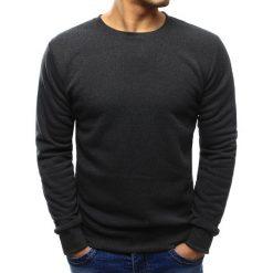 Bluzy męskie: Bluza męska gładka antracytowa (bx3418)