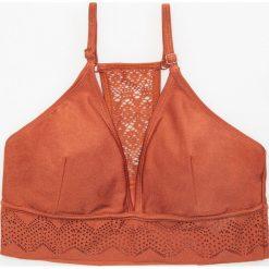 Stroje dwuczęściowe damskie: Góra od bikini – Pomarańczo
