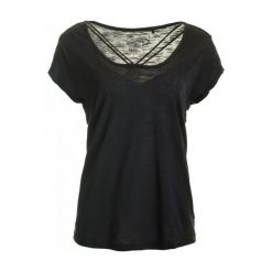 Odzież damska: Mustang T-Shirt Damski Xs Czarny