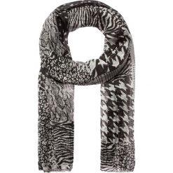 Szaliki damskie: Szal w kolorze czarno-białym – 180 x 55 cm