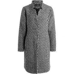 Płaszcze damskie pastelowe: Freequent MILLIANA STRUCTURE Płaszcz wełniany /Płaszcz klasyczny black offwhite grey