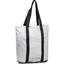 Shopper bag damskie: Torebka CALVIN KLEIN BLACK LABEL – Ck Packable Shopper K40K400244  000