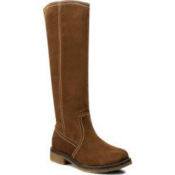 Kozaki LASOCKI - G098 Camel. Brązowe buty zimowe damskie Lasocki, z materiału, przed kolano, na wysokim obcasie, na obcasie. W wyprzedaży za 140,00 zł.