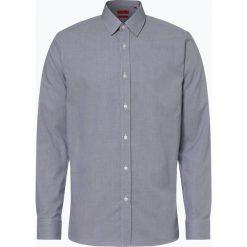 HUGO - Koszula męska łatwa w prasowaniu – Elisha01, niebieski. Niebieskie koszule męskie non-iron marki HUGO, m, z bawełny. Za 299,95 zł.