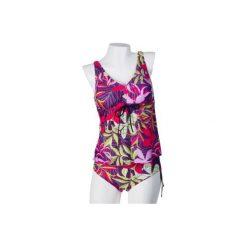 Kostium kąpielowy dwuczęściowy. Różowe dół bikini TXM. Za 57,99 zł.