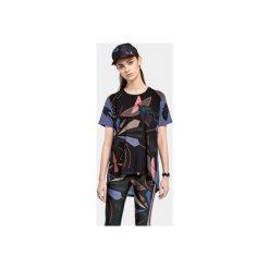T-SHIRT ĆMA. Czarne t-shirty damskie Colorat, l, z okrągłym kołnierzem. Za 159,00 zł.