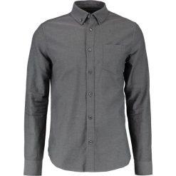 Koszule męskie na spinki: Burton Menswear London OXFORD    Koszula charcoal
