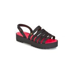 Sandały Melissa  CREATIVES FLAT SP AD. Czarne sandały damskie Melissa. Za 359,20 zł.