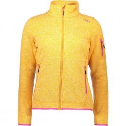 Kurtka polarowa w kolorze żółtym. Żółte kurtki damskie marki CMP Women, z dzianiny. W wyprzedaży za 136,95 zł.