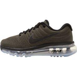 Nike Performance AIR MAX 2017 BG Obuwie do biegania treningowe cargo khaki/black. Zielone buty do biegania damskie marki Nike Performance, z materiału. W wyprzedaży za 433,30 zł.