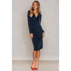 Długie sukienki: Samsoe & Samsoe Sukienka Rachel - Green