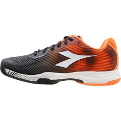 Diadora COMPETITION 4 CLAY Obuwie do tenisa Outdoor orange/black. Brązowe buty trekkingowe męskie Diadora, z materiału, outdoorowe. Za 419,00 zł.