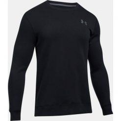 Bluzy męskie: Under Armour Bluza męska Rival Fleece Solid Fitted Crew czarna r. L (1302854-001)