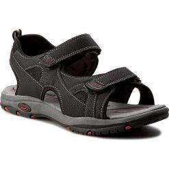 Sandały CANGURO - W002-903 Nero. Czarne sandały męskie skórzane marki Canguro. W wyprzedaży za 129,00 zł.