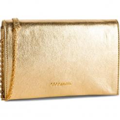 Torebka COCCINELLE - DP6 Kaliope Glitter E1 DP6 19 01 01 Platino N49. Żółte torebki klasyczne damskie marki Coccinelle, ze skóry. Za 1149,90 zł.