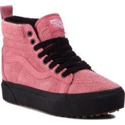 Sneakersy VANS - SK8-Hi Platform M VN0A3TKOUCE (Mte) Desert Rose/Black. Czerwone sneakersy damskie Vans, z gumy. W wyprzedaży za 339,00 zł.