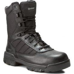 Buty BATES - Enforcer Ultralit E02260 Black. Czarne buty trekkingowe męskie Bates, z materiału, na sznurówki, outdoorowe. W wyprzedaży za 359,00 zł.